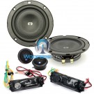 "CL-42SL - CDT Audio 4"" 110W RMS 2-Way Component Speakers System"