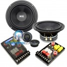 "HD-M62 - CDT Audio 6.5"" 150W RMS 2-Way Component Speakers System"