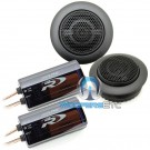 """Alpine SPR-10TW 1"""" 150W RMS Type-R Series Silk Dome Tweeters with Crossovers"""