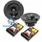 """HD-62Braxial - CDT Audio 6.5"""" 180W RMS 2-Way Braxial Component Speakers System"""