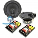 "HD-M62Braxial - CDT Audio 6.5"" 150W RMS 2-Way Braxial Component Speakers System"