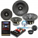 "HD-642 - CDT Audio High Definition 6.5"" 3-Way Component Speakers"