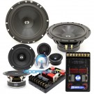 "CL-632- CDT Audio 6.5"" / 3"" 200W RMS 3-Way Classic Series Component Speakers System"