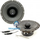 "CL-6CX.2 - CDT Audio 6.5"" 130W RMS 2-Way Coaxial Speakers with X-1 Crossovers"