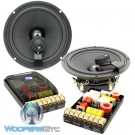 """ES-62iBraxial - CDT Audio 6.5"""" 180W RMS 2-Way Component Speakers System"""