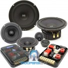 "CDT Audio ES-0642i 6.5"" 4"" 250W RMS 3-Way Component Speakers System"