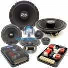 "ES-632iM - CDT Audio 6.5"" 3"" 230W RMS 3-Way Component Speakers System"