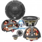 """Supremo 602 - Morel 6.5"""" 2-Way 140W RMS Supremo Series Component Speakers System"""