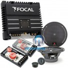"pkg Focal 165A1 6.5"" Component Speakers + SOLID2 2-Channel Amplifier"