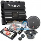 "pkg Focal 130A1 5.25"" Component Speakers + SOLID2 2-Channel Amplifier"