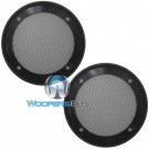 "4"" Grills - American Accessories Universal Steel Mesh Speaker Grills"