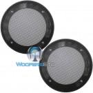 "5.25"" Grills - American Accessories Universal Steel Mesh Speaker Grills"