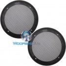"6.5"" Grills - American Accessories Universal Steel Mesh Speaker Grills"