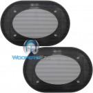 "4"" x 6"" Grills - American Accessories Universal Steel Mesh Speaker Grills"