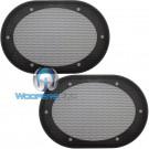 "5"" x 7"" / 6"" x 8"" Grills - American Accessories Universal Steel Mesh Speaker Grills"
