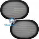 "6"" x 9"" Grills - American Accessories Universal Steel Mesh Speaker Grills"