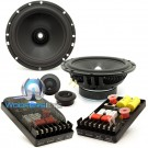 "Hybrid-65.2 - CDT Audio 6.5"" 2-Ohm 2-Way Component Speakers System"