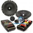 "CL-650 - CDT Audio 6.5"" 4-Ohm 2-Way Component Speakers System"