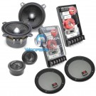 "100A1 - Focal 4"" 2-Way Component Speakers System with Grills"