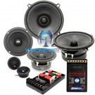 "CL-E532- CDT Audio 5.25"" 3-Way Classic Series Component Speakers System"