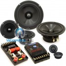 "HD-632 - CDT Audio 6.5"" 3-Way HD Series Component Speakers System"