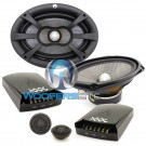 "XXX6.9C - RE Audio 6"" x 9"" 240W RMS 2-Way XXX Series Component Speakers System"