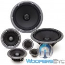 "Gladen AEROSPACE 165.3 ACTIVE 6.5"" 3-Way Aerospace Line Component Speakers System"