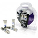 AGU20B - Audiobahn 4 Pieces AGU 20 Amp Fuse Pack with Blown Fuse Blue Lamp Indicator