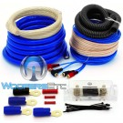 AK-012 Blue - GD Deluxe 0 AWG 6000 Watt Amplifier Installation Kit