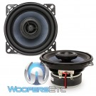 "Gladen ALPHA 100C 4"" 55W RMS Coaxial Speakers"
