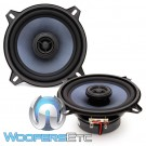 "Gladen ALPHA 130C 5"" 65W RMS Coaxial Speakers"