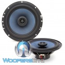 "Gladen ALPHA 165C 6.5"" 75W RMS Coaxial Speakers"