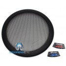 "KTE-10G - Alpine 10"" Protective 2-Piece Subwoofer Grille for Type R, S, E"