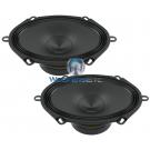 """Audison AP570 5"""" x 7"""" Mid Range 4 Ohm 300W Speakers"""