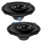 "Audison Prima APX690 6"" x 9"" 100W RMS 3-Way Super Tweeters Coaxial Speakers"