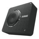 """Audison APBX8DS Loaded Enclosure Box 8"""" 500W Subwoofer Bass 2 Ohm Speaker"""