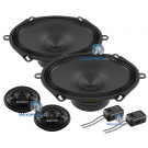 "Audison APK570 5"" x 7"" Component Speakers 4 Ohm 300W Speaker System"