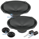"Audison - APK 690 Prima 6x9"" 100W 2-Way System Component Speakers"