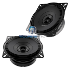 "Audison APX4 Prima 4"" Coaxial 120W 2 Way 4 Ohm Speakers"