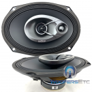 """Audison Prima APX690 6"""" x 9"""" 100W RMS 3-Way Super Tweeters Coaxial Speakers"""