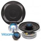 "Audiobahn AS40Q 4"" 80W RMS 2-Way AS-Series Coaxial Speakers"