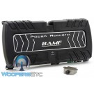 BAMF5.2500 - Power Acoustik 5-Channel 2500W Max Class AB Full Range Amplifier