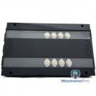 B22-S STAGE 4 KIT (Black) - TRU Technology 2-Channel 2 x 200W RMS Class AB Billet Series Power Amplifier Made in the U.S.A.