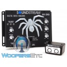 Soundstream BX-23Q Digital Bass Reconstruction Processor with 3-Band Bass Equalizer and LED Lighting