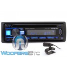 Alpine CDE-172BT In-Dash 1-DIN CD/USB Stereo Receiver with Bluetooth