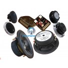 "Super 3.2 - CDT Audio 6.5"" 2-Ohm Sub-bass 3-Way Component Speaker System"