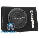 "Memphis CSA110E 10"" 350W RMS Enclosed Subwoofer Ported Speaker Box"