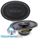"Hertz CX690 6"" x 9"" 100W RMS 3-Way Cento Series Coaxial Speakers"