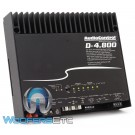 AudioControl D-4.800 4-Channel 800W RMS Amplifier with DSP Matrix Processing