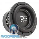 """DC Audio DC-M3 8 D4 8"""" 600W RMS Dual 2-Ohm Subwoofer"""